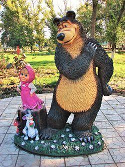 Masha y el oso (serie de televisión) - Wikipedia, la enciclopedia libre
