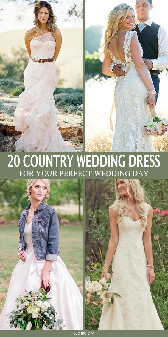 20 Best Country Chic Wedding Dresses Rustic Western Wedding Dresses Country Chic Wedding Dress Country Wedding Dresses Western Wedding Dresses