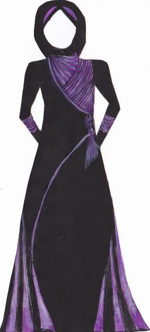 Abaya design from Silkroute Stylein