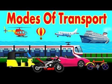 Learn Modes Of Transport For Kids Kinds Of Transport Preschool