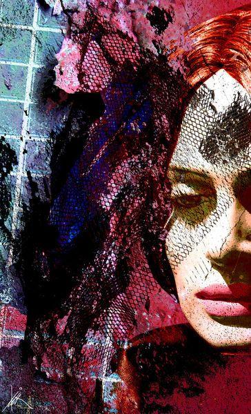 'Trauer - Sorrow' von Harald Fischer bei artflakes.com als Poster oder Kunstdruck $20.09