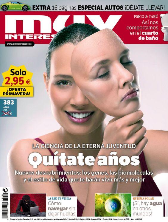 "Portada de ""Muy Interesante"" Abril 2013."