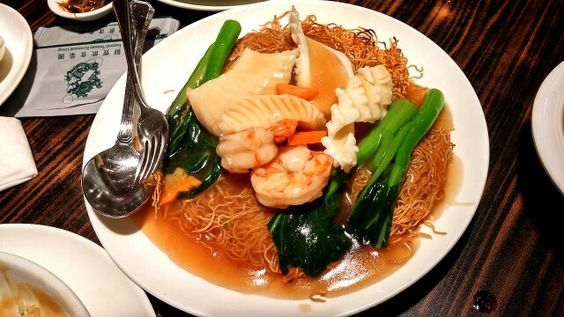 Crispy Seafood Noodles Chinesefood Food Photography Food Chinese Food