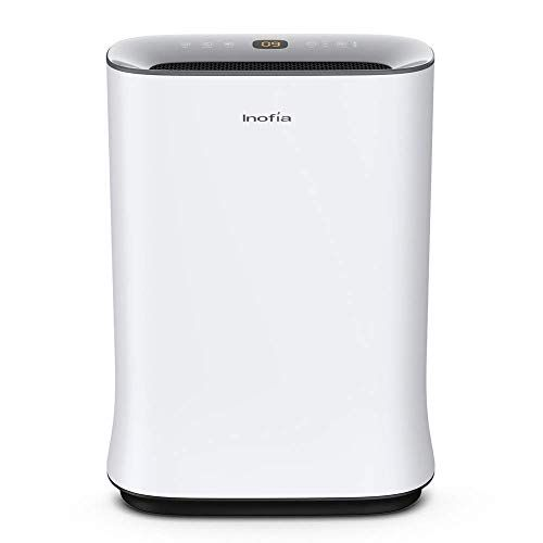 Inofia Air Purifier With True Hepa Air Filter Air Cleaner For Large Room For Spaces Up To 8 Hepa Air Filter Hepa Air Purifier Filter Air Purifier
