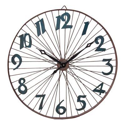 Horloge murale ronde style industriel mod le 19165 vical for Horloge murale style industriel