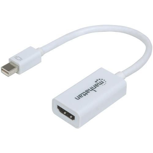 Package 1 Ea Connects A Mini Displayport Source With An Hdmi R Display Cable Delivers A Single High Quality Signal To Hdmi R Display Ide Hdmi Cable Adapter