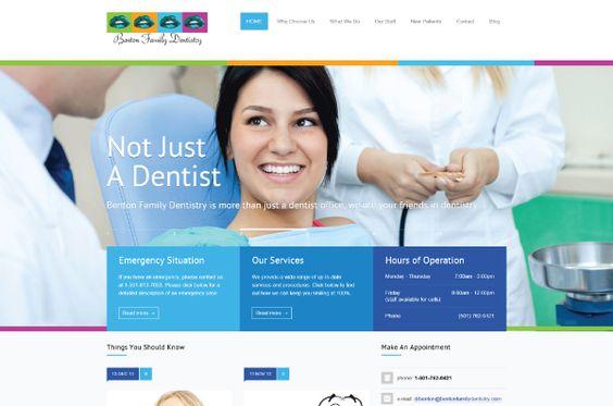 Benton Family Dentistry  http://www.bentonfamilydentistry.com