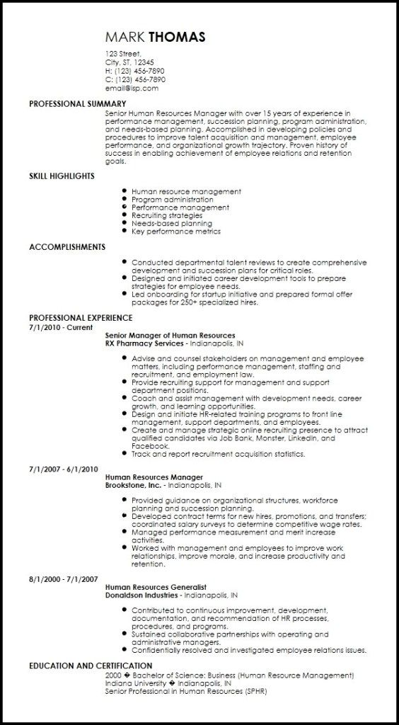 The Top 4 Executive Resume Examples Written By A Professional Recruiter Executive Resume Template Executive Resume Resume Examples