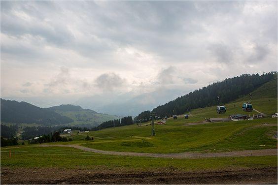 Visiting Almhütte Cervosa Alm - belonging to Hotel Cervosa in Serfaus - at Serfaus-Fiss-Ladis Region in Austria / Österreich - Tyrol / Tirol