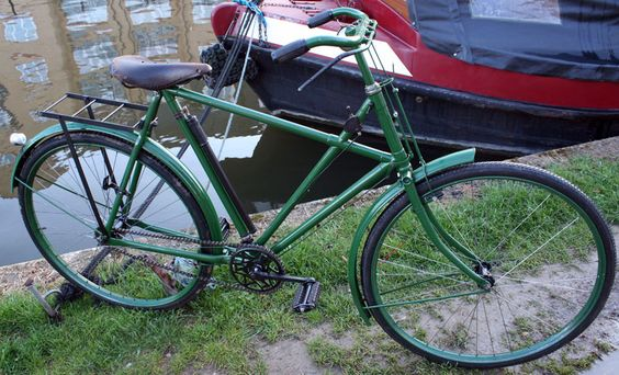 1917 Raleigh All-Steel Superbe Model 20 Gents Cross-Frame (X Frame)