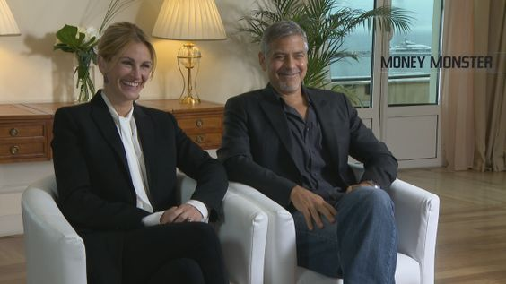 Julia Roberts and George Clooney are setting up a double date at Cannes.