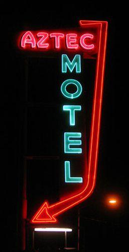 aztec sign by rwarn17588, via Flickr