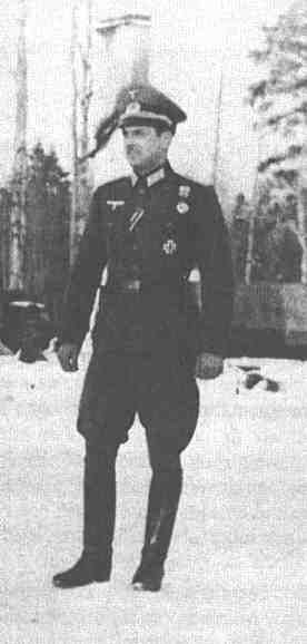 Division Azul. Capitan Ordas