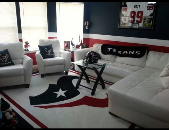 Man Cave Ideas Football : Houston texans man cave pinterest