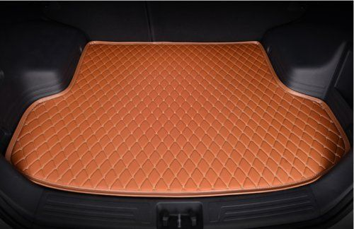 Leather Car Rear Trunk Mat Waterproof Handmade Cargo Liner For Ford Fiesta Sedan 20092016brown Want Additional Info Click With Images Cargo Liner Buick Envision Cargo