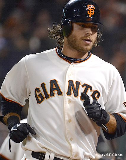 Brandon Crawford... Love everything about this sexy man, especially his hair!