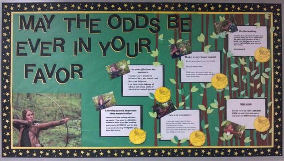 Hunger Games Bulletin Board | School ~ Organization ...