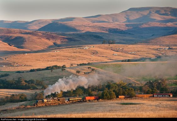 RailPictures.Net Photo: Class GMAM No 4074 South African Railways Steam 4-8-2+2-8-4 at Creighton, South Africa by David Benn: