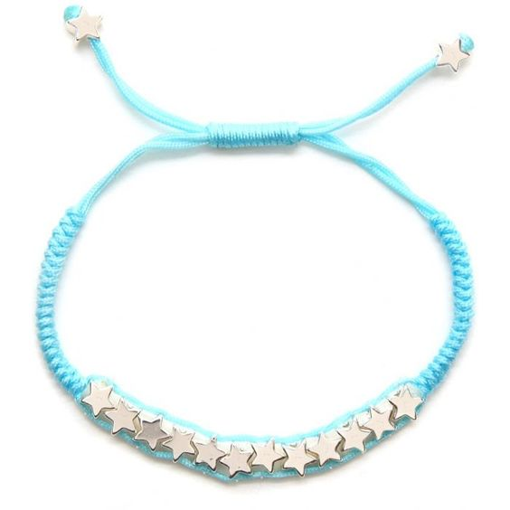 £8.50 Little Ella Jessie Blue Friendship Bracelet