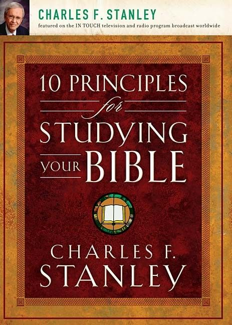 Dr charles stanley provides practical insight into god s word by