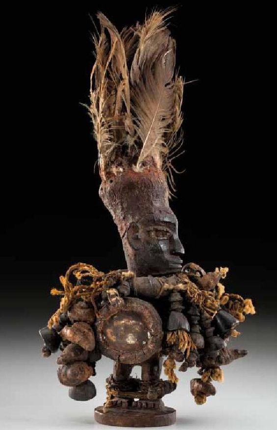 Kongo statuette 23 cm