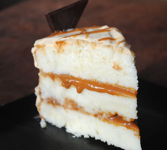 Dulce de Leche Cake with Dulce De Leche Whipped Cream