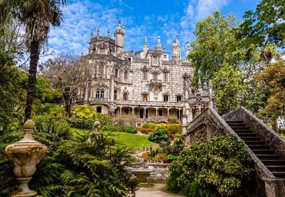 Palacio da Regaleira, Portugal - considerado Patrimonio de la Humanidad por UNESCO