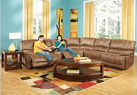 Shop for a stetson ridge 9 pc sectional living room at for Find living room furniture