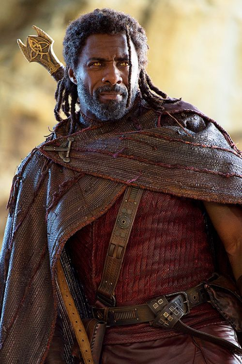 Idris Elba as Heimdall in Thor Ragnarok movie #IdrisElba #Heimdall #ThorRagnarok #marvel