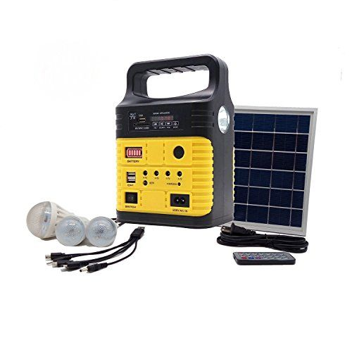Portable Solar Generator With Solar Panel Included 3 Sets Https Www Amazon Com Dp B07d5zmy6f R Portable Solar Generator Solar Power Energy Solar Generator