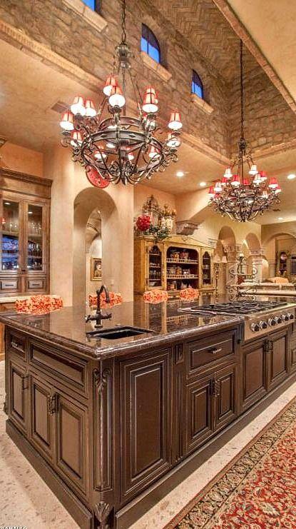 Incredible Custom Designed Kitchen....