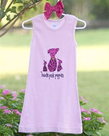 Tank Dress by hautepinkpuppies on Etsy, $18.95