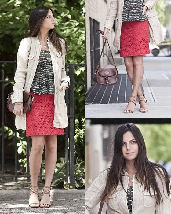 Urban Jungle #streetstyle #skirt #tendencia #look #looks #moda #fashion #style