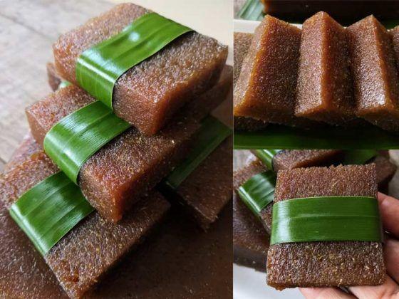 Resepi Bengkang Ubi Kayu Gula Merah Kukus Best Dan Senang Sangat Gula Kue Cantik Cemilan