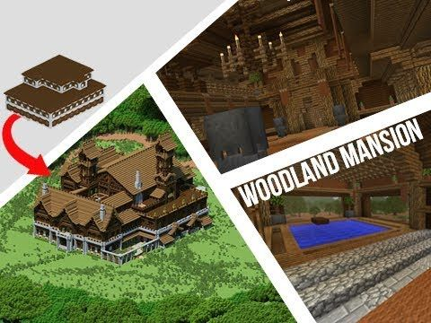 Woodland Mansion Guardian Temple Above Ground End Portal At