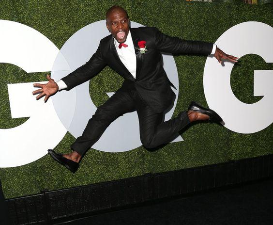 Pin for Later: Tous les Hommes Sexys D'Hollywood Se Sont Rendus à la Soirée GQ Men of the Year Terry Crews