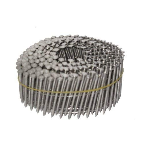 Get Nailpro 1 3 4 Inch By 0 093 Ring Shank Siding Nail 15 Degree Wire Coil Stainless Steel 3600 Pc Ctn At Airtoolsdepot Stainless Steel Rings Stainless Steel Wire Roofing Nails