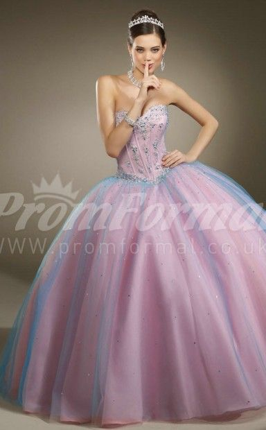 Blushing+PinkTulle+Sweetheart+Lace-up+Ball+Gown+Quincenera+Dresses+Appliques+With+Wrap(PRJT04-0278)