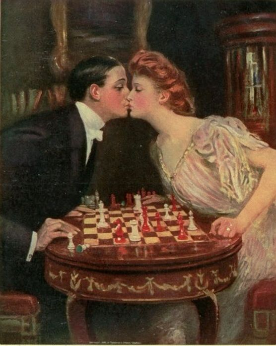 Underwood, Clarence Frederick (b,1871) - Kiss
