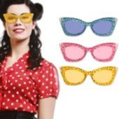 Animal Print Retro Sunglasses-12 Pack