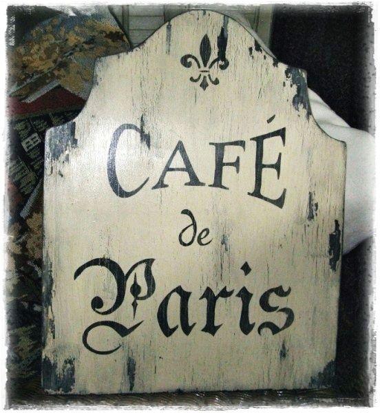 Love The Sign.   Paris   Ma Ville Préférée!   Pinterest   French Cafe,  Cafes And French Farmhouse