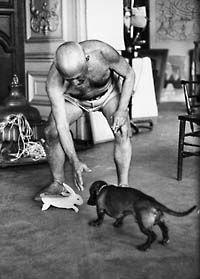 Pablo Picasso (Maler), Dackel.  Prominente Dackel « Dackelblick