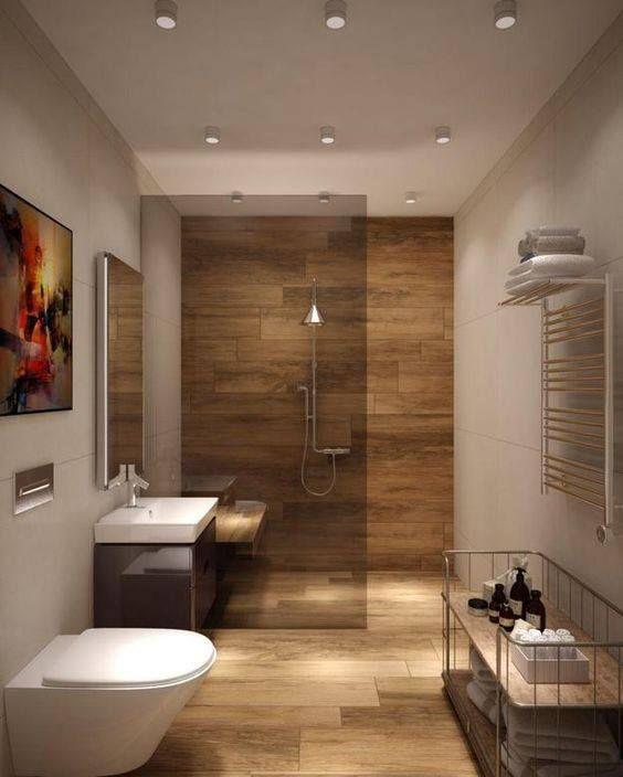 I Like The Way The Floor Tile Runs Up The Back Wall Maybe For Main Bath Suchasni Vanni Kimnati Suchasnij Dizajn Vannoyi Kimnati Dizajn Inter Yeru Vannoyi Kimnati
