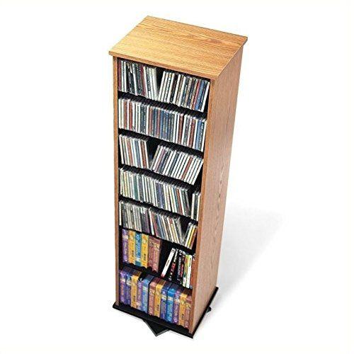 Care 4 Home Llc Multimedia Storage Spinning Tower Adjustable