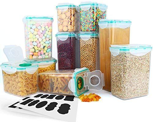Cereal Container Verones Airtight Plastic Storage Containers Perfec Airtight Food Storage Containers Plastic Container Storage Food Storage Containers Plastic