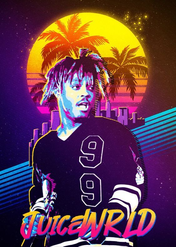Juice Wrld Wallpaper For Mobile Phone Tablet Desktop Computer And Other Devices Hd And 4k Wallpapers In 2021 Poster Prints Rapper Art Music Poster Beautiful juice wrld wallpaper for