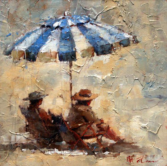 Andre Kohn 1972 | Russian-born Figurative Impressionist painter ...