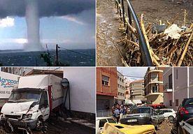 7-Sep-2015 16:13 - ZUID-SPANJE GETEISTERD DOOR ZWARE OVERSTROMINGEN. Zware regenval en stormachtige wind hebben de afgelopen twaalf uur in Zuid-Spanje voor veel overlast gezorgd. Op sommige plaatsen staat het water…...