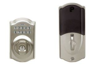 Schlage LiNK Wireless Keypad Add-on Deadbolt, Satin Nickel http://www.amazon.com/dp/B001NEK6KG/?tag=pmpin-20