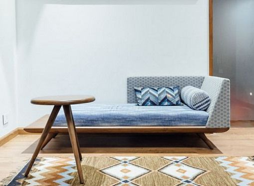 Low Seating Divan Futon That Can Be Used As A Day Bed Or
